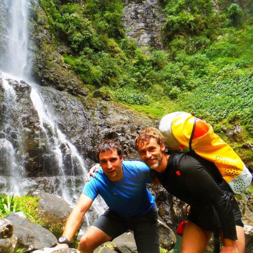 Descenso de cañones/Barranquismo en Isla Reunion. Viaje de Aventura.