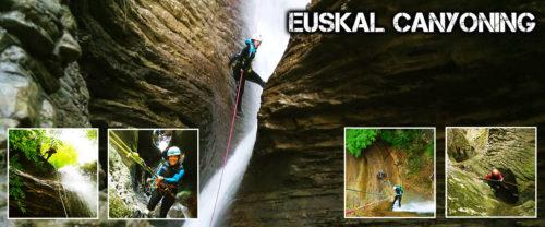 Barranquismo Pais Vasco-Euskadi, descubre estos bellos parajes de la mano de guías tiutlados profesionales.