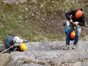 Curso de Autorrescate Barranquismo. Curso de descenso de cañones, Autorrescate.Guias profesionales de barrancos. Euskadi, Pais Vasco, Navarra, Pirineos-15