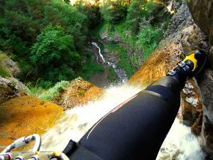Barranco-Foz-de-la-Canal-Barranquismo-en-Sobrarbe-Ordesa-Bujaruelo-Aínsa-Canyoning-Guías-de-Barrancos-Canyon-Guides-24