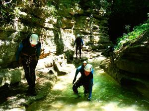 Barranco-Furco-Barranquismo-en-Sobrarbe-Ordesa-Bujaruelo-Aínsa-Canyoning-Guías-de-Barrancos-Canyon-Guides-14