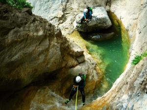 Barranco-Lapazosa-Barranquismo-en-Sobrarbe-Ordesa-Bujaruelo-Aínsa-Canyoning-Guías-de-Barrancos-Canyon-Guides-17