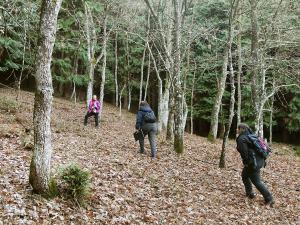 orientación-en-Gorbea-Turismo-activo-euskadi-Lurra-Adventure-Orientación-interpretatiava-11