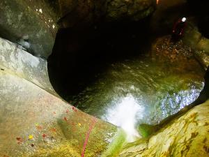 Barranco-Oudaybi-Barranquismo-Descenso-de-cañones-Canyoning-Iparralde-Kakueta-Holtzarte-Navarra-Guías-de-Barrancos-Canyon-Guides-12