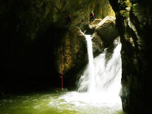 Barranco-Saratze-Barranquismo-Descenso-de-cañones-Canyoning-Iparralde-Kakueta-Holtzarte-Navarra-Guías-de-Barrancos-Canyon-Guides-8