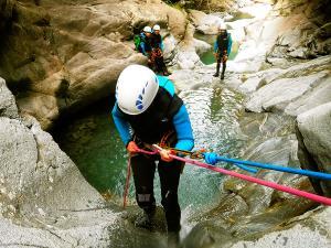 Barranco-Trigoniero-Barranquismo-en-Sobrarbe-Ordesa-Bujaruelo-Aínsa-Canyoning-Guías-de-Barrancos-Canyon-Guides-13