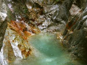 Barranco-Trigoniero-Barranquismo-en-Sobrarbe-Ordesa-Bujaruelo-Aínsa-Canyoning-Guías-de-Barrancos-Canyon-Guides-2