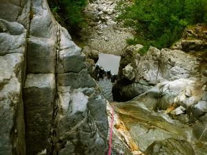 Barranco-Trigoniero-Barranquismo-en-Sobrarbe-Ordesa-Bujaruelo-Aínsa-Canyoning-Guías-de-Barrancos-Canyon-Guides-4