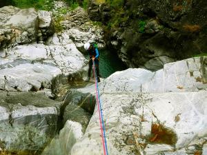 Barranco-Trigoniero-Barranquismo-en-Sobrarbe-Ordesa-Bujaruelo-Aínsa-Canyoning-Guías-de-Barrancos-Canyon-Guides-9