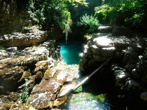 Barranco-Viandico-Barranquismo-en-Sobrarbe-Ordesa-Bujaruelo-Aínsa-Canyoning-Guías-de-Barrancos-Canyon-Guides-17