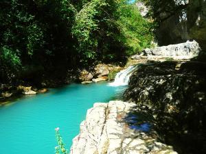Barranco-Viandico-Barranquismo-en-Sobrarbe-Ordesa-Bujaruelo-Aínsa-Canyoning-Guías-de-Barrancos-Canyon-Guides-18