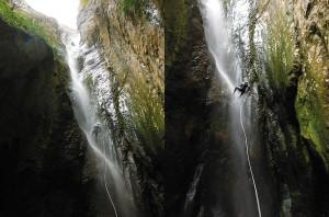 Barranquismo-Arroila-Jeitsiera-Canyoning-Nivel3-Pirineos-Pirinioak-Pyrenees-CanyonGuides-ArroilaGidariak-GuiasBarranquismo-5