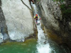 Barranquismo-Arroila-Jeitsiera-Canyoning-Nivel3-Pirineos-Pirinioak-Pyrenees-CanyonGuides-ArroilaGidariak-GuiasBarranquismo-9