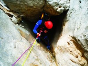 Barranquismo-Guara-Mascun-Superior-GuíasdeBarrancos-Descenso-de-Cañones-Rodellar-Canyoning-Guara