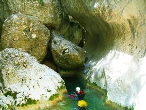 Barranquismo-Guara-Vero-GuíasdeBarrancos-Descenso-de-Cañones-Rodellar-12