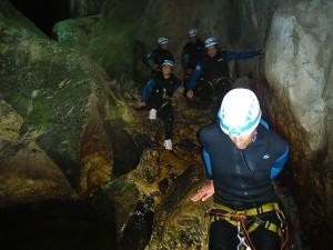 Cueva-de-la-LEZE-Descenso-de-cañones-Barranquismo-Euskadi-Pais-Vasco-Alava-11