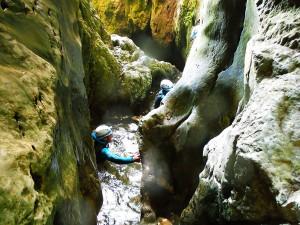 Cueva-de-la-LEZE-Descenso-de-cañones-Barranquismo-Euskadi-Pais-Vasco-Alava-13