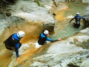 Deportes-aventura-descenso-de-cañones-Barranquismo-Pirineos-Siresa-10
