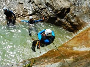 Deportes-aventura-descenso-de-cañones-Barranquismo-Pirineos-Siresa-Barranco de l'hopital